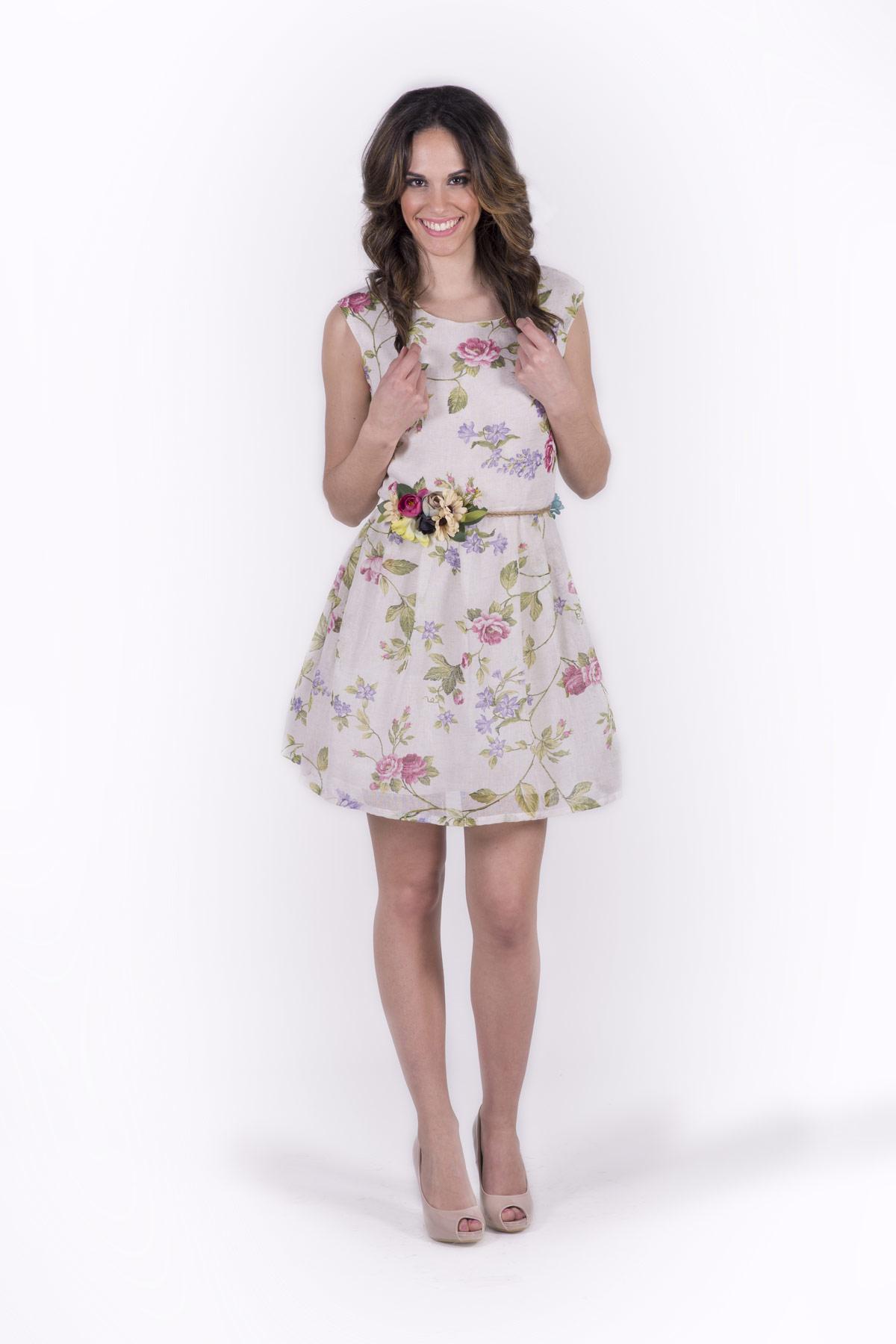 Vestidos de fiesta con estampado de flores
