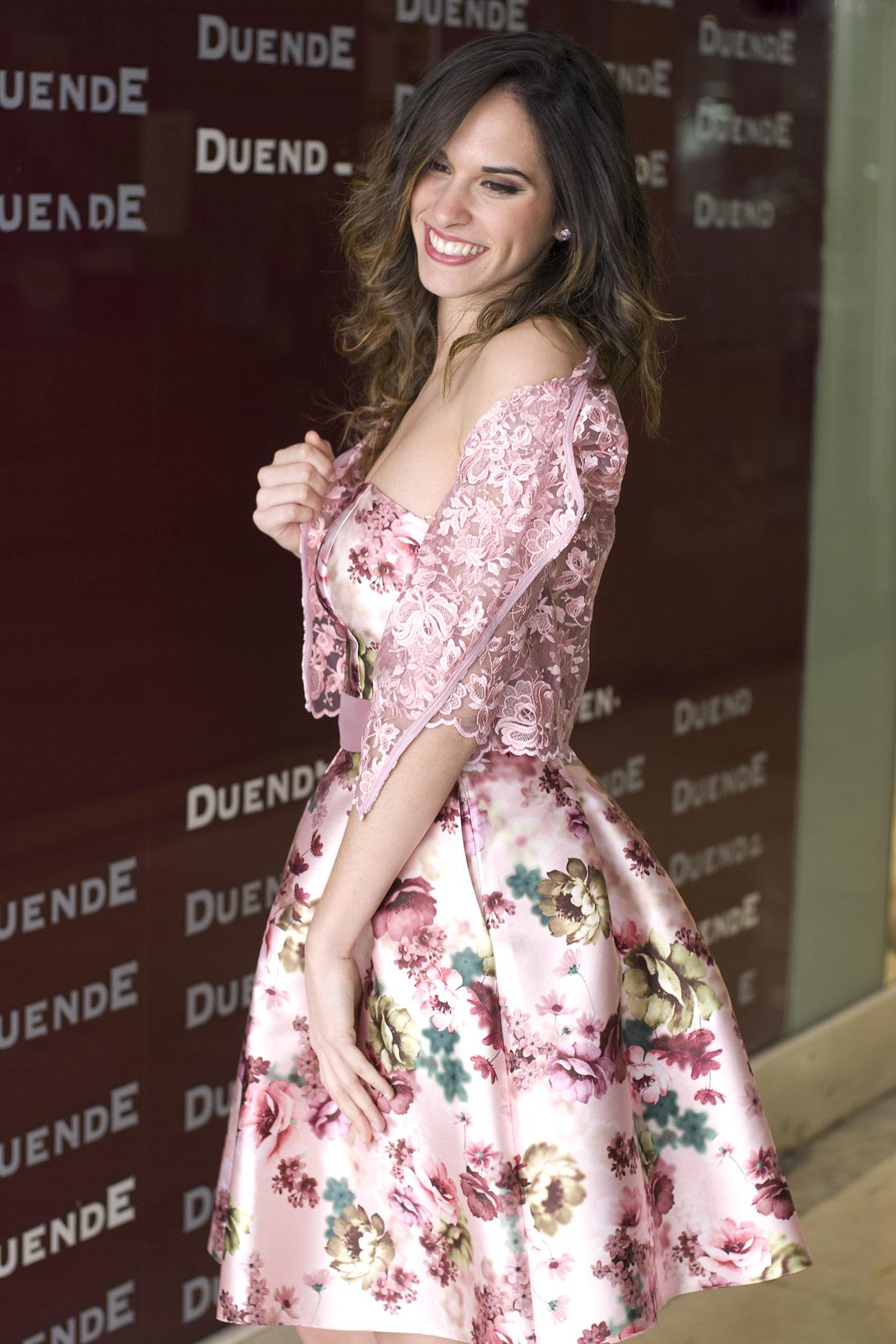 Increíble Flores Vestido De Fiesta Motivo - Ideas de Vestido para La ...