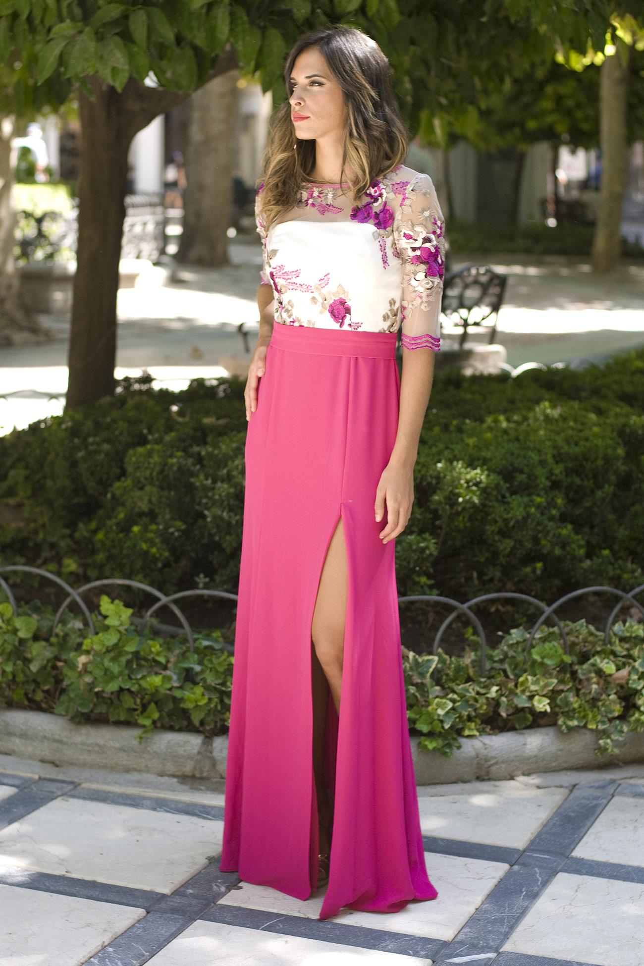 Contemporáneo Vestido De Novia Con Falda Desmontable Inspiración ...