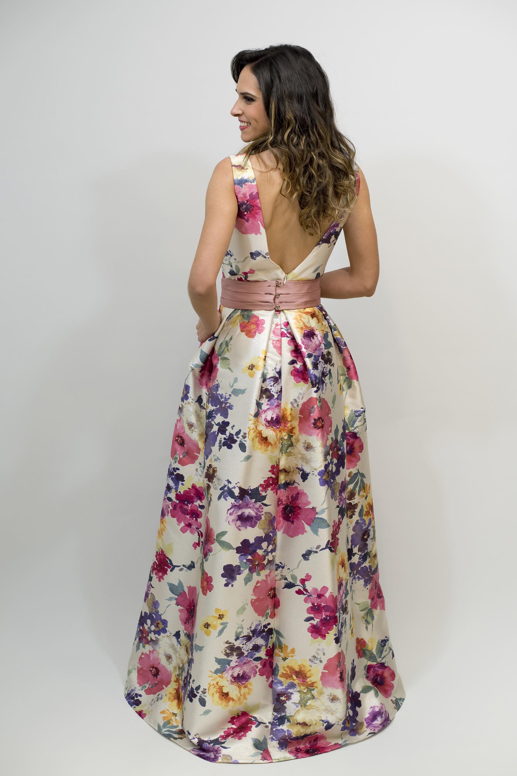 Vestidos de fiesta con falda de tablas